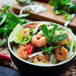 Vietnamese Prawns Salad